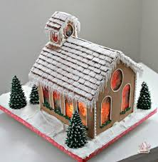 pattern for large gingerbread house gingerbread church sweetopia