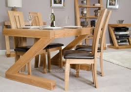 Designer Solid Oak Small Dining Table Kitchen And Dining Room - Small pine kitchen table