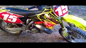 125 motocross bikes for sale 2006 suzuki rm 125 2 stroke dirtbike youtube