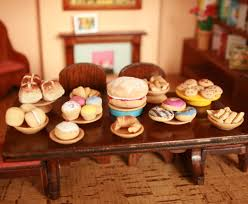 miniature food made from salt dough 6 steps with pictures