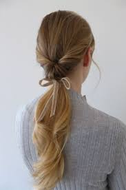ribbon ponytail best 25 ribbon hairstyle ideas on ribbon hair bow