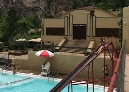 visiting the cool hot springs the swimming pool at eldorado springs