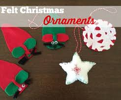diy easy felt ornaments for southern savers