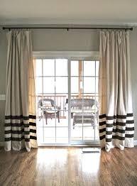 Glass Door Curtains Marvelous Drapes Sliding Glass Doors Best Sliding Door Curtains
