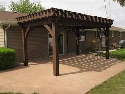 12x20 oversized diy timber frame pergola kit backyard remodel