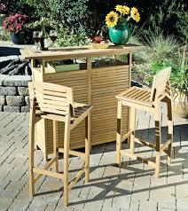Outdoor Pub Style Patio Furniture Patio Ideas Patio Bar Table Set Bali Style Shorea Wood Bar And