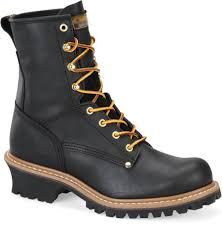 s rugged boots lm s work boots rugged pioneer logger boot steel toe year