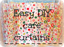 easy diy cafe curtains candycloudstudio