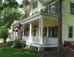 House With Front Porch by Colonial Homes With Front Porches Home Design Ideas