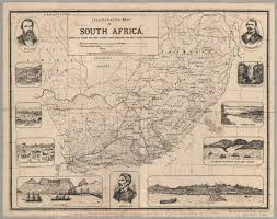 Map Of South Africa by African Historical Maps Uct Libraries Digital Collections