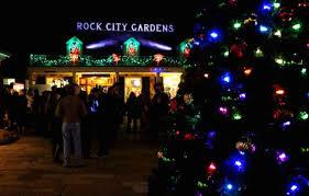 photos rock city u0027s enchanted garden of lights chattanoogan com