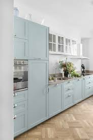 duck egg blue for kitchen cupboards cool mint duck egg blue kitchen mix of ikea base and