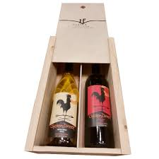 wine bottle gift box two bottle wood gift box shop huston vineyards