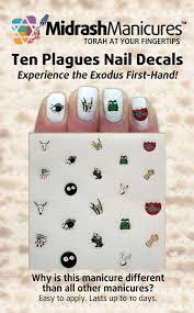 amazon com midrash manicures passover 10 plagues nail decals