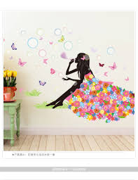 stickers for home picture more detailed about diy wall diy wall sticker butterfly decals bicycle and lovely ballet girls poster stickers for home decor