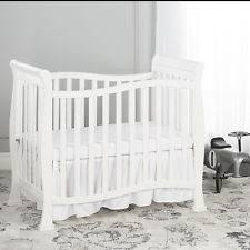 Mini Crib White On Me Piper 4 In 1 Convertible Mini Crib White Free2dayship