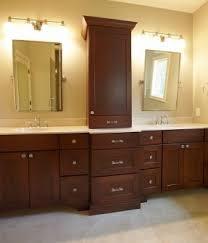 Bathroom Countertop Storage Mesmerizing Bathroom Storage Tower Cabinet Foter Of Countertop