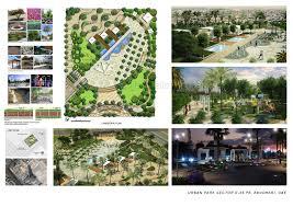 landscape architects profile 3dartrender urban park design