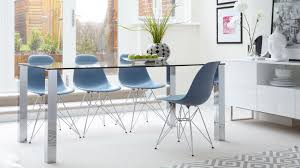 chrome dining room chairs glass and chrome dining table and chairs best gallery of tables