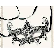 gothic flourish filigree masquerade mask halloween masquerade