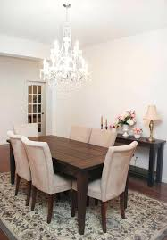 Chandelier Above Dining Table Chandelier Dining Table Dining Room Farmhouse Table Union