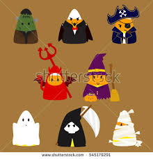 Candy Corn Halloween Costume Candy Corn Halloween Black Witch Costume Stock Vector 590041829
