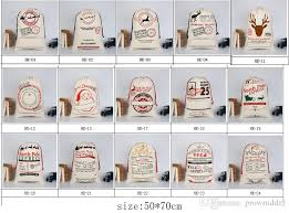 monogrammable items christmas gifts sack bags for child cotton large canvas