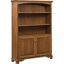 Pine Bookcase With Doors Amish Bookcases Amish Furniture Shipshewana Furniture Co
