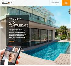 luxury home automation website redesign wins award san francisco