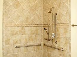 Bathroom Shower Tile Ideas Bathroom Shower Designed With Black - Bathroom shower tiling