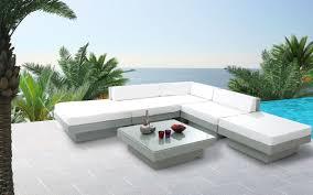 mobilier exterieur design salon de jardin résine tressée complet gris maurice miliboo