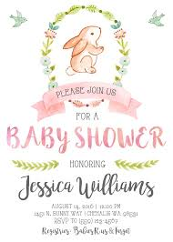 rabbit baby shower best 25 bunny ba showers ideas on ba shower bunny baby