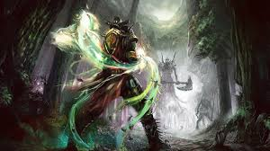 fantasy war tactics halloween background elven ranger by daa truth d3eeahx jpg 800 1035 elves pinterest