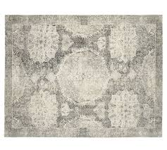 Pottery Barn Rugs Barret Printed Wool Rug Pottery Barn Au