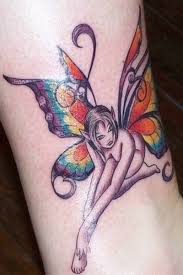cute fairy with butterfly wings tattoo tattoos book 65 000