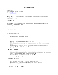 Resume Sample Computer Science by Resume Format For Lecturer In Computer Science Resume For Your