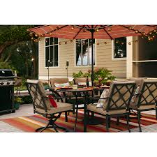 Lowes Garden Treasures Patio Furniture Covers - shop garden treasures vinehaven 40 in w x 64 5 in l rectangle