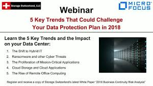 Challenge Your Key Trends That Could Challenge Your Data Protection Plan In 2018
