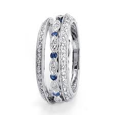 wedding band for women sapphire and diamond women s wedding bands parade 71