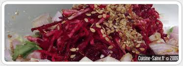 recette cuisine crue recette salade de racines betteraves crues et navets crus