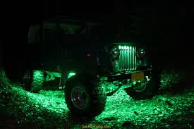 Automotive Led Light Strips Jeep