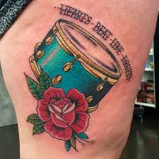 Guitar Tattoo Designs Ideas Best 20 Drum Tattoo Ideas On Pinterest Sheet Music Tattoo Drum
