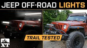 best jeep light bar the best jeep wrangler off road lighting light bars rock lights