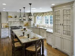 Mediterranean Kitchen Bellevue - zuuk mediterranean kitchen gas cooktop among base cabinet side by