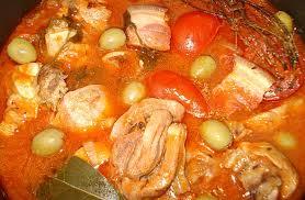 cuisine corse veau aux olives de veau corse aux olives et polenta