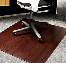Office Chair Rug Office Chair Floor Mat Desk Carpet Protector Bamboo Shoes Rug