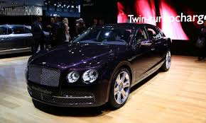 bentley flying spur 2014 north american debut for new bentley flying spur extravaganzi