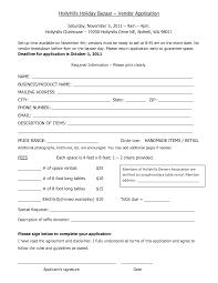 Vendor Information Sheet Template 28 Event Vendor Application Template Excel Form Template 6 Free