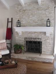 Tiled Fireplace Wall by Beautiful Brick Fireplace Makeover For Family Room Remodel Idea