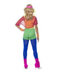 eighties halloween costumes 80s aerobics costume eighties party horror shop com